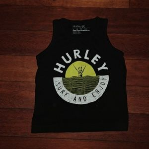 Hurley toddler muscle tee XS 4 NWOT